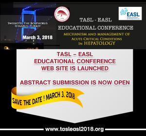Tasl – Easl Educational Conference – Mechanism and Management of Acute Critical Conditions in...